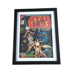 Stan Lee Autographed #1 Star Wars Magazine