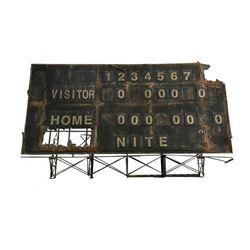 "Gatorade ""Visitors"" Commercial Baseball Stadium Scoreboard"