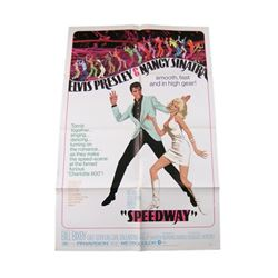 Speedway Original Theatrical Poster 1968