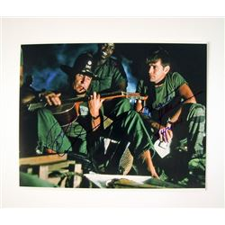 Apocalypse Now Photo Signed by Robert Duvall & Martin Sheen