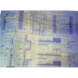 The Aviator Blueprints of Grauman's Chinese Theater (set of 3)