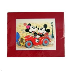 Disney's Mickey and Minnie Mouse Hand Painted Animation Cel