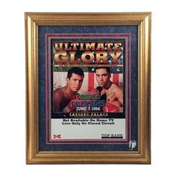 Chavez vs. De La Hoya Autographed Poster