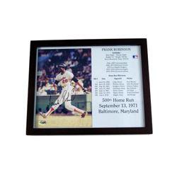 Frank Robinson Baltimore Orioles Signed Photo