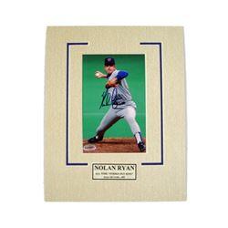 Nolan Ryan Texas Rangers Autographed Photo