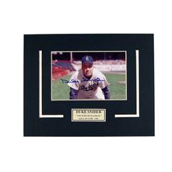 Duke Snider Brooklyn Dodgers Autographed Photo