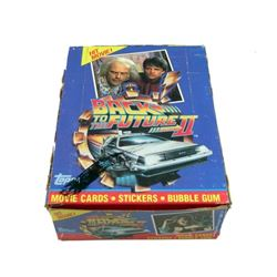 Back To The Future 2 Sealed Collector Cards