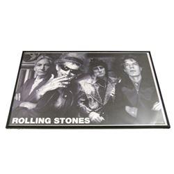 Rolling Stones Framed Poster
