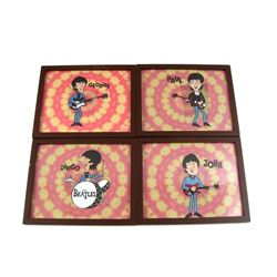 Beatles Hand Painted Animation Cells