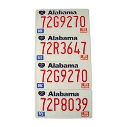 Forrest Gump Alabama License Movie Props