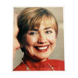 Hillary Clinton Signed Photo