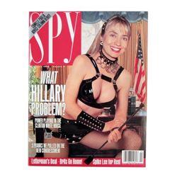 Spy Magazine Dominatrix Hillary Clinton Issue