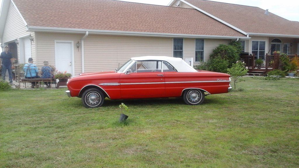 1963 Ford Falcon Futura Convertible, 170 6 Cylinder