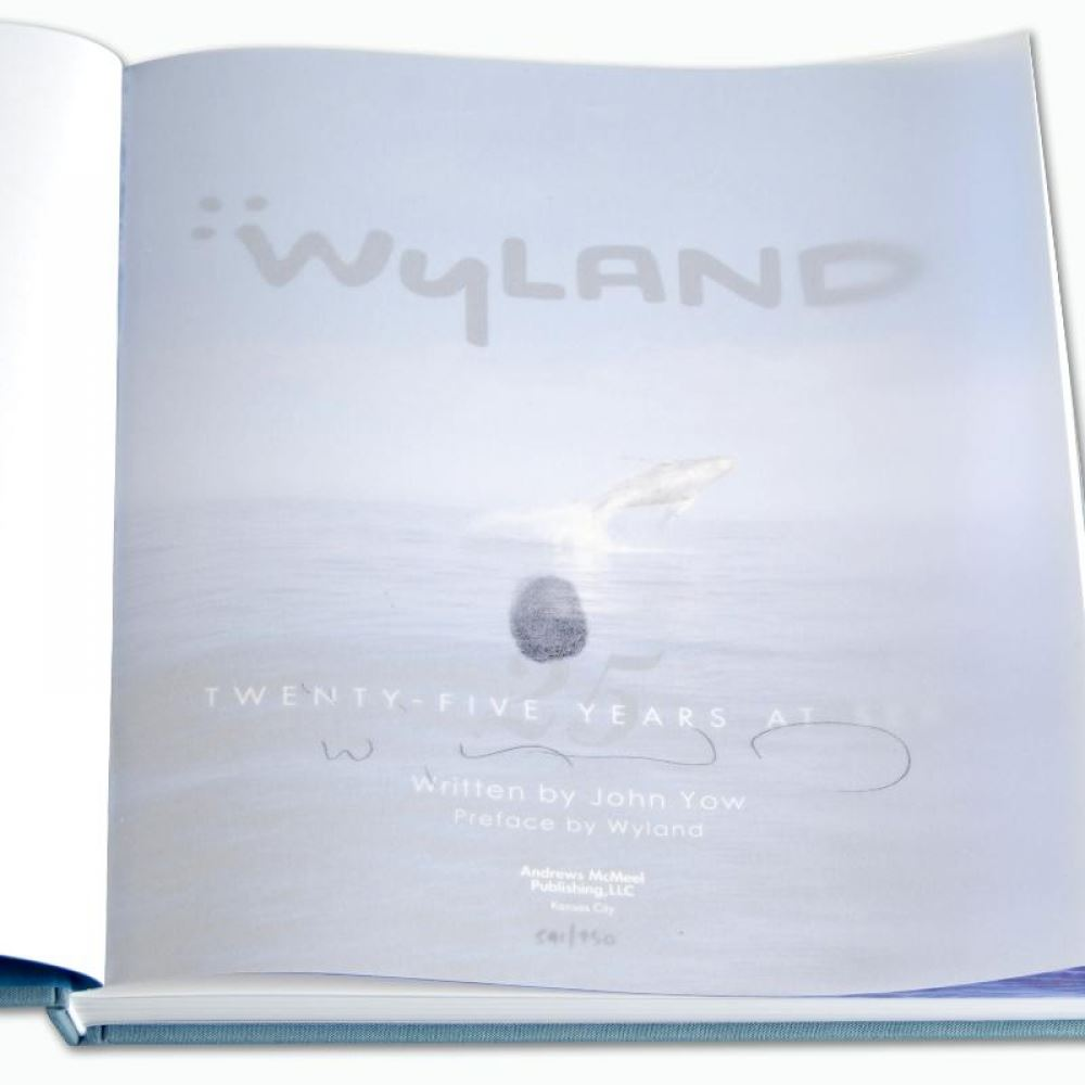 WYLAND  The Undersea World  Hardcover Art Book Autographed / Signed NEW HAVE 3 Antyki i Sztuka