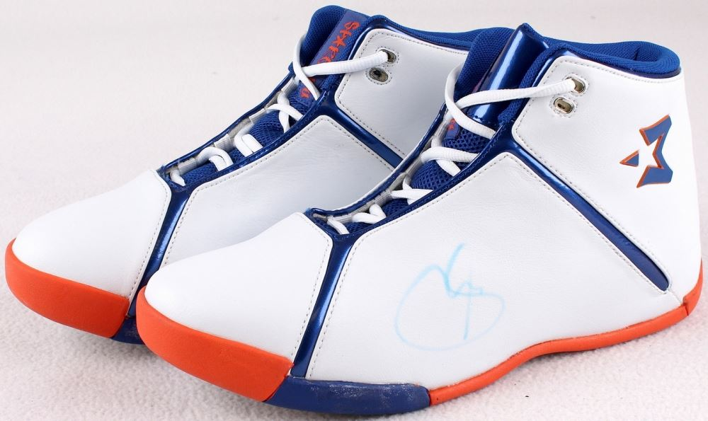 the latest b0764 c6659 Stephon Marbury Signed New Pair of Starbury Basketball Shoes (PA LOA).  Loading zoom