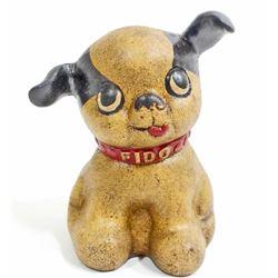 CAST IRON FIDO DOG BANK