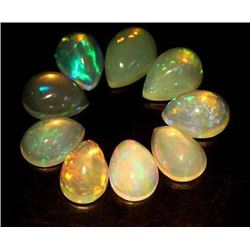 LOT OF 4.91 CTS OF MULTICOLOR ETHIOPIAN OPALS