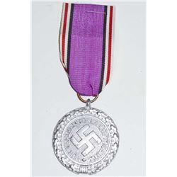 GERMAN NAZI 2ND CLASS LUFTSHUTZ RLB CIVIL DEFENSE DECORATION