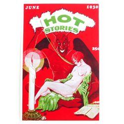 JUNE 30 HOT STORIES PIN-UP GIRL POSTER PRINT