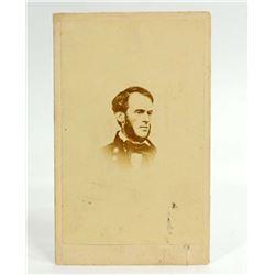 CIVIL WAR ERA CDV PHOTO OF MAJOR GENERAL SHERMAN