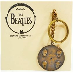 THE BEATLES RECORD KEY CHAIN
