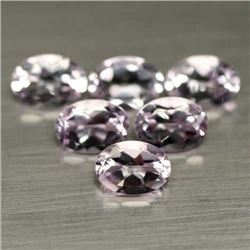 LOT OF 6.48 CTS OF PINK BRAZILIAN AMETHYSTS - 9 PIECES