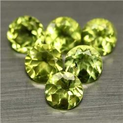 LOT OF 4.71 CTS OF GREEN PAKISTAN PERIDOTS - 9 PIECES