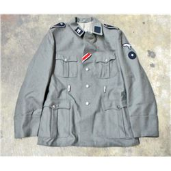 GERMAN NAZI WAFFEN SS INFANTRY ENLISTED MANS TUNIC