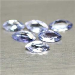LOT OF 3.79 CTS OF BLUE TANZANITE