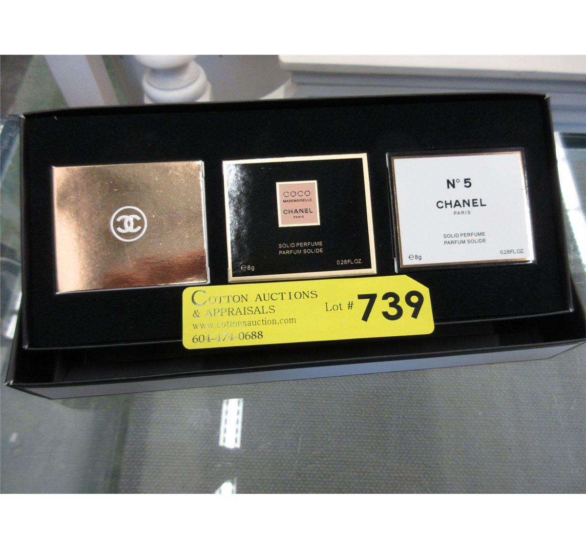 Chanel Solid Perfume Gift Set