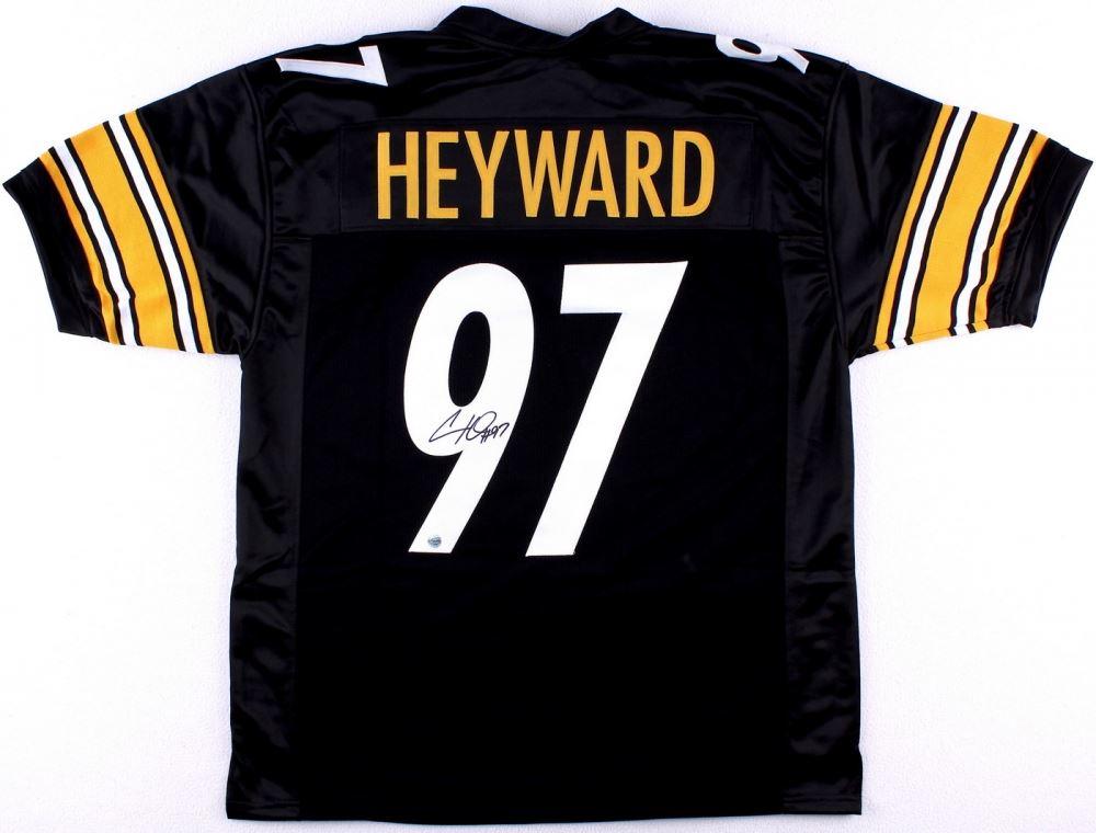 dc9f71c3ef6 Image 1   Cameron Heyward Signed Steelers Jersey (Total Sports COA) ...