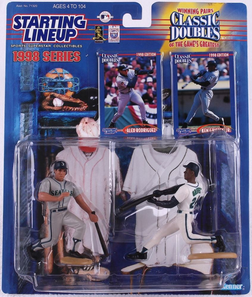109043d448 Image 1 : Starting Lineup Classic Doubles Figurines with Alex Rodriguez & Ken  Griffey Jr.