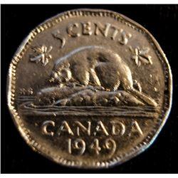 1949 Canada Nickel