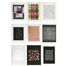Anni Albers, Connections 1925 - 1983 Portfolio of Nine Silkscreens