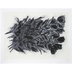 Donald Sultan, Black Roses, Silkscreen