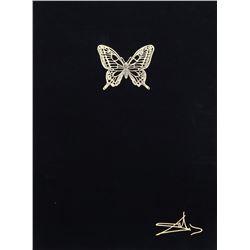 Salvador Dali, Papillon Anciennes Suite of Four Lithographs