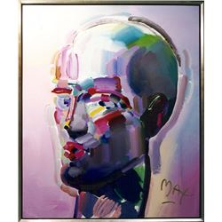 Peter Max, Neo Head, Painting