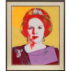 Andy Warhol, Queen Beatrix of the Netherlands (FS.II.341), Screenprint