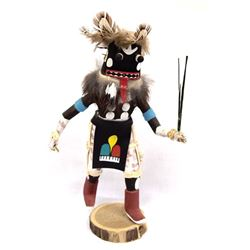 Navajo Hand Carved Ogre Kachina by M.R. Lonewolf