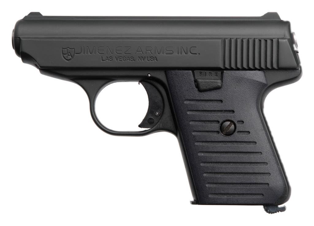 ++Jimenez Arms Co  Model JA-25 semi-automatic pistol,  25