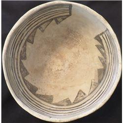 Anazasi Black on White Bowl