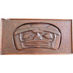 Authentic Tlingit Wood Plaque