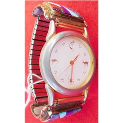 Watch w/Native American Gemstone Work