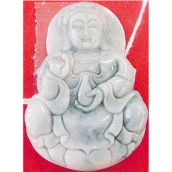 Pendant Jade Carving of Buddha