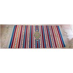 Fine Saltillo Mexican Weaving
