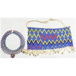 African Zulu Skirt and Necklace