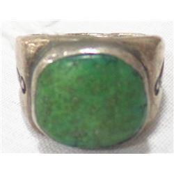 Men's Old Turquoise Navajo Ring