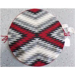 Navajo Round Weaving