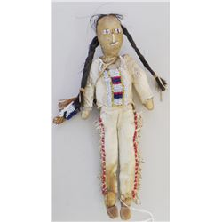 Male Sioux Beaded Plains Doll