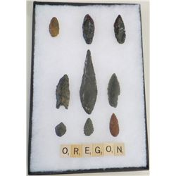 Paleo and Archaic Oregon Points